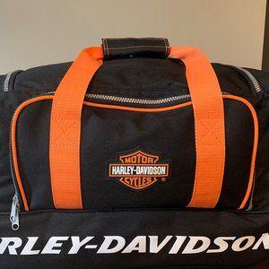 """Harley Davidson Wheeled Duffel Bag"
